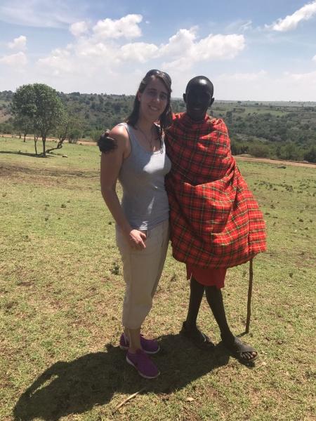 Maria's work-trip to Kenya