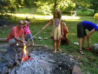 Campfire & s'mores