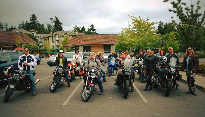 A nice ride around the peninsula with the Rainer Ravens.