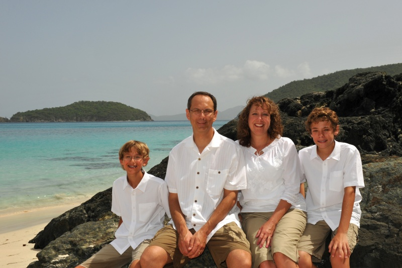 Scott's sister's family