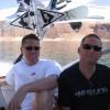 Boating on beautiful Lake Powell.