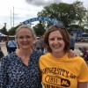 Kristia & her mom at the MN State Fair