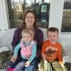 Kristia visiting her niece & nephew!