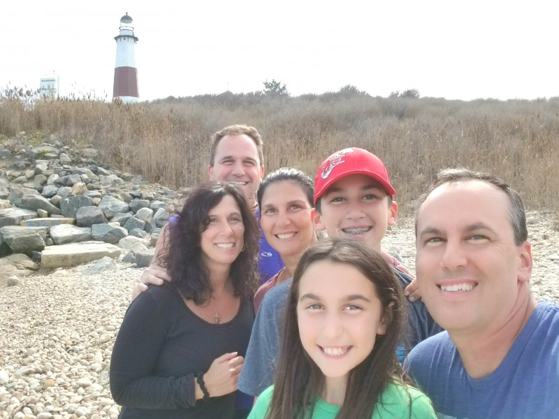 October 2017 Annual Fall Festival -Montauk Point with family