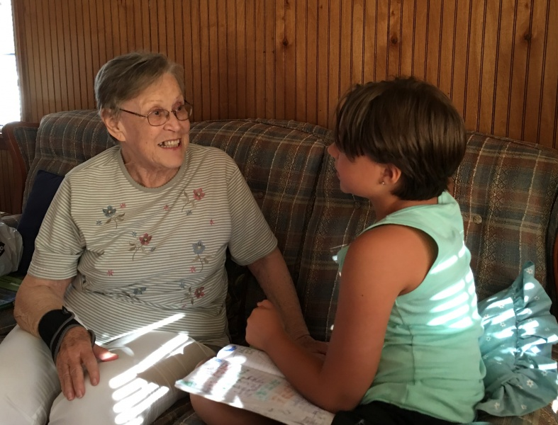 Swapping Stories with Grandma!