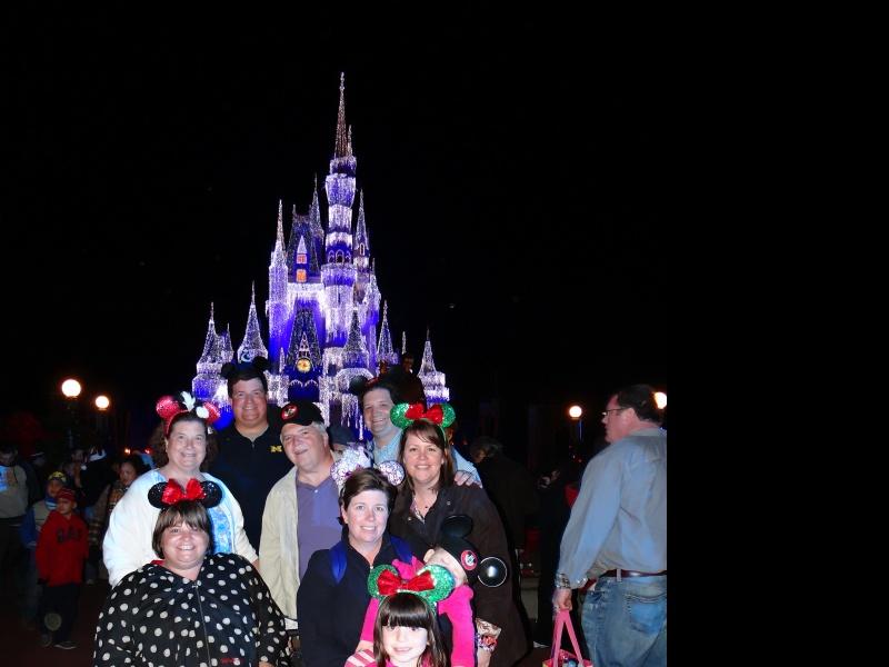 The Meyers Family at Disney World