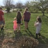 Easter egg hunt with cousins!
