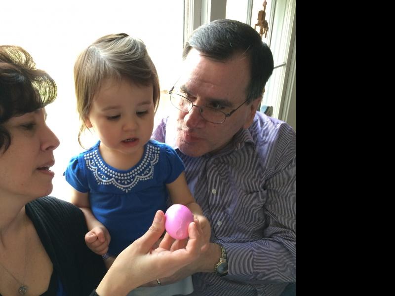 Greek Easter egg tradition