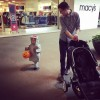Trick or treating at the mall