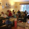 Christmas with Bethany's family