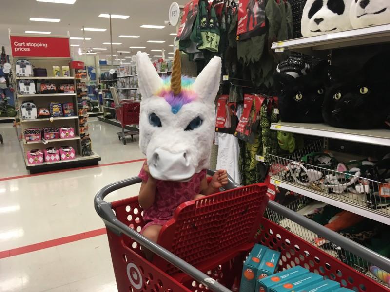 Halloween fun at Target
