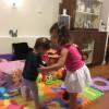 Playing at Ella's house