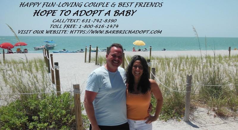 Barb & Rich enjoying the beach