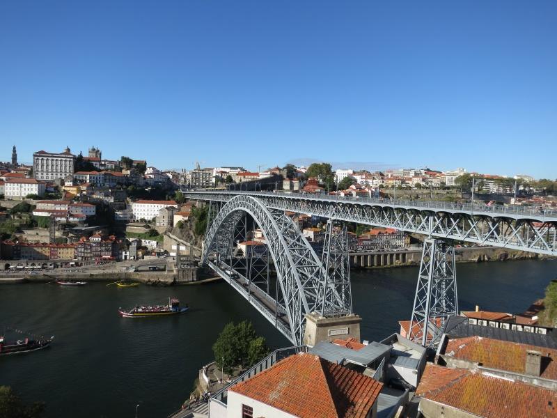 Gondola ride in Porto, Portugal nice view