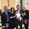 Our Godson's Christening