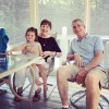 Aria with GG (Great Grandma) and Papa (Great Grandpa)