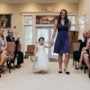 Aria refused to walk down the aisle without Aunt Kristin