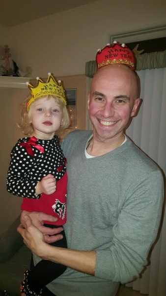 Who looks better in this New Years crown!?
