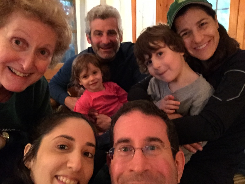 jays family vacation selfie