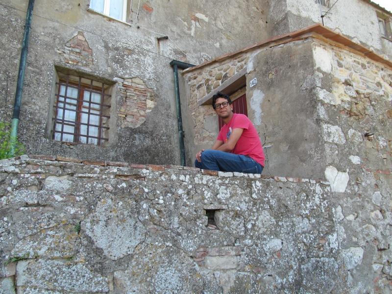 Amir relaxing