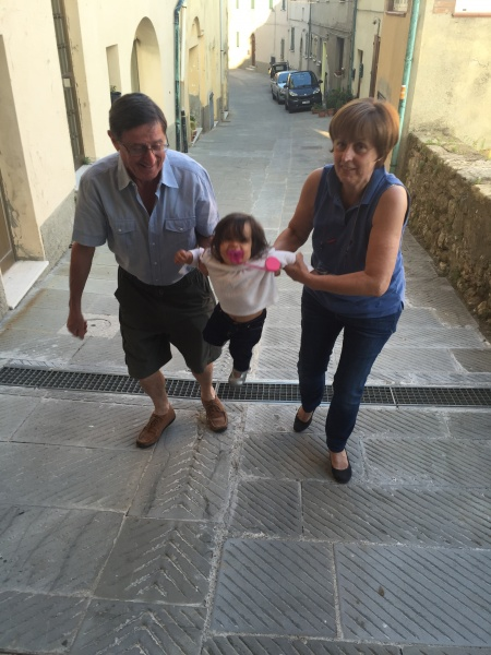 Anna, Paolo and Lucia