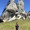 Walking among stones...