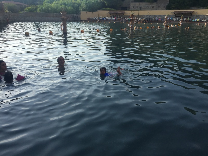 The thermal springs