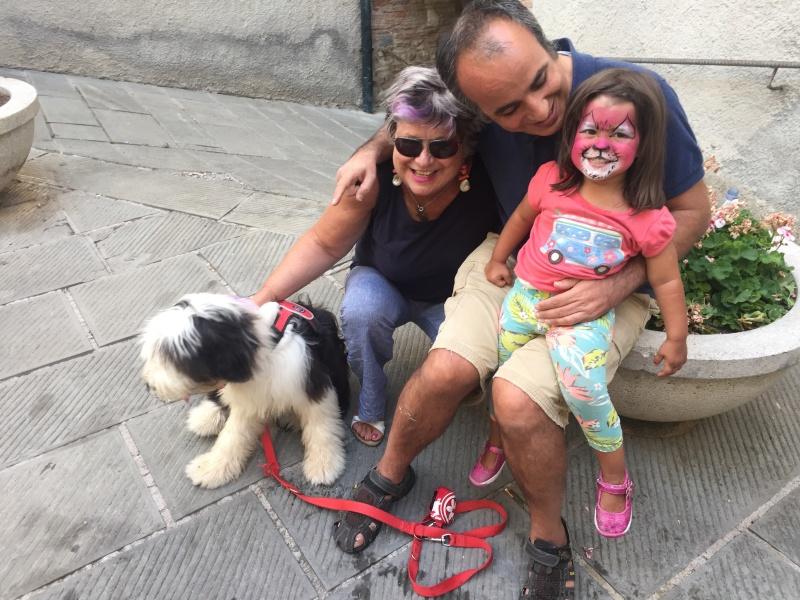 Marco, Anna, and Patrizia