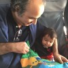 Reading in the plane