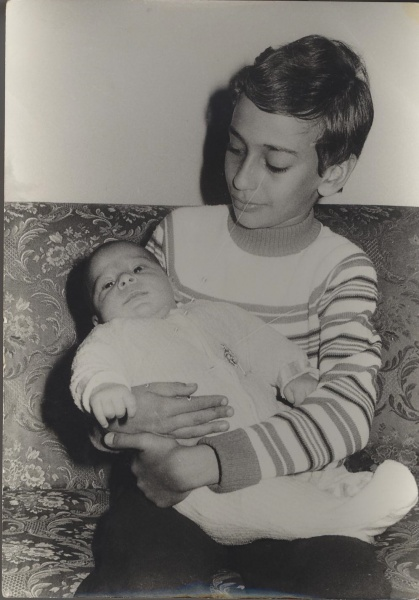 Amir and his brother