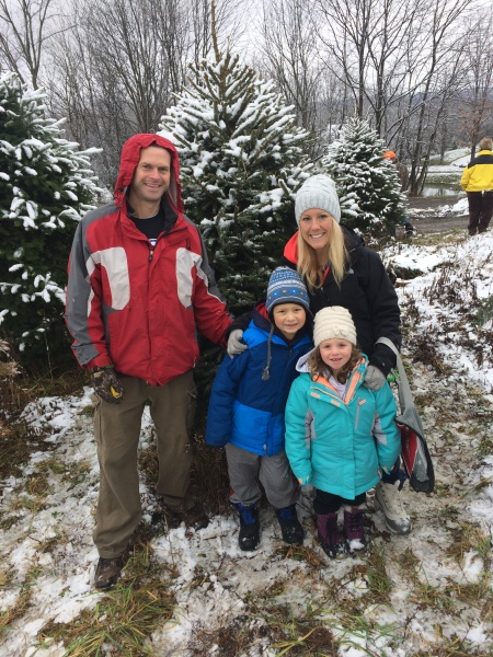 Annual trek to pick out our Christmas Tree!