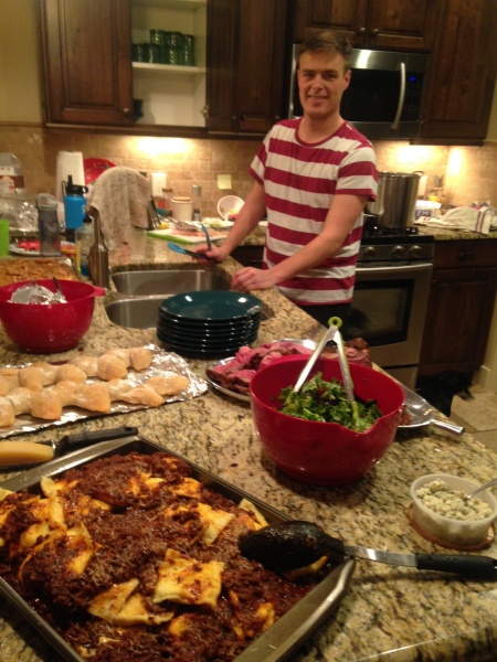 Jay is quite the chef!