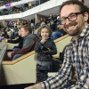 Hanging Out at the Hockey Game