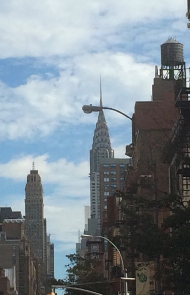 The famous Chrysler Building!
