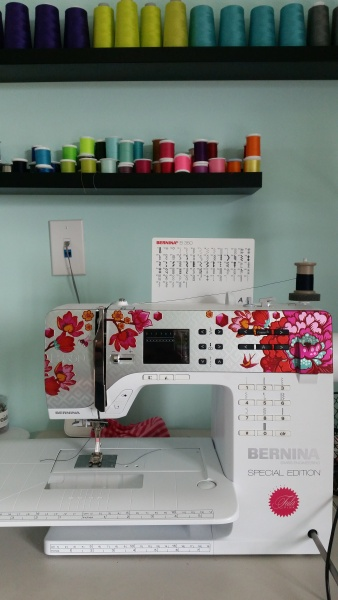 Amy is a Fashion Designer who loves to sew clothes for our family.