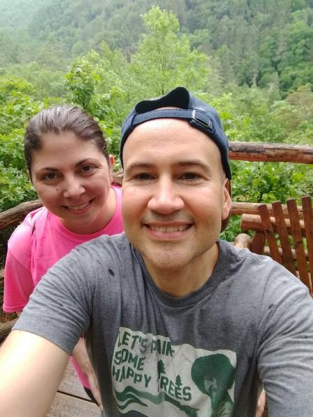 Hiking together
