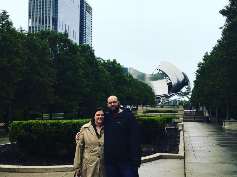 Chicago anniversary trip