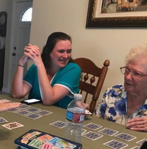 Playing cards with my 92-year-old Grandma
