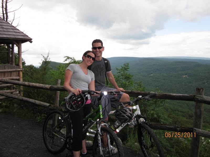 Bike riding at Mohonk Mountain