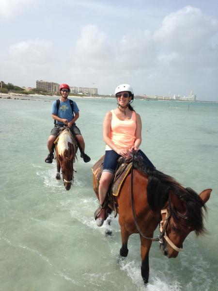 Horseback riding in Aruba