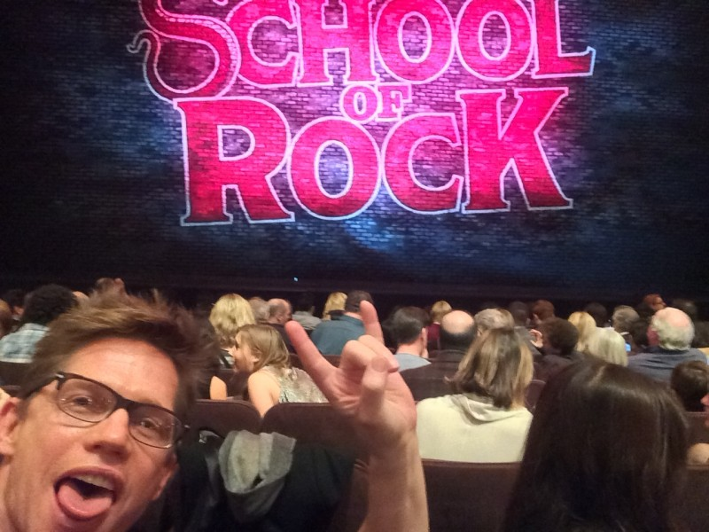 """Jack went to see """"School Of Rock"""""""