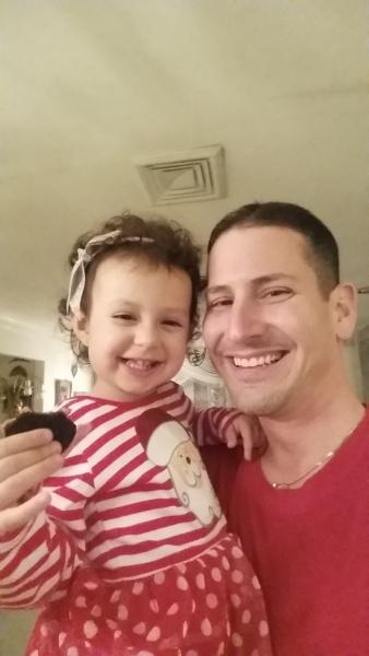 Sharing Christmas cookies