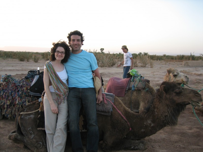 Spain and Morocco trip early in our relationship (2 months!)