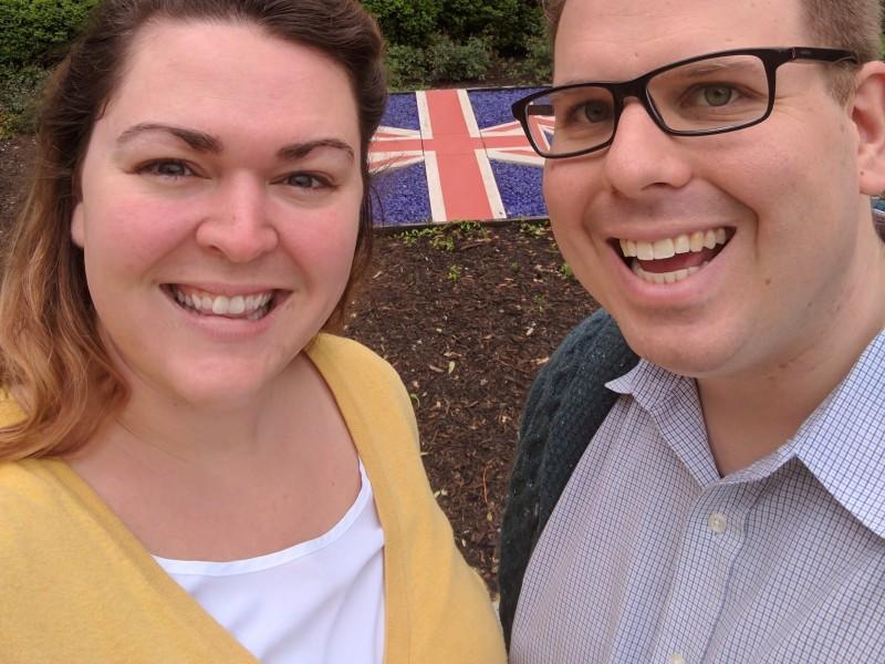 visiting the British Embassy