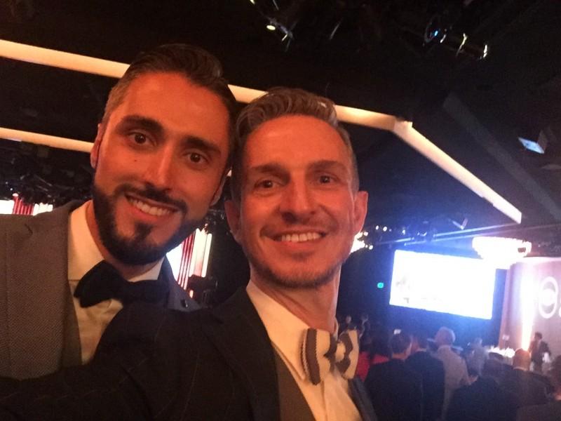 Us at a Gala