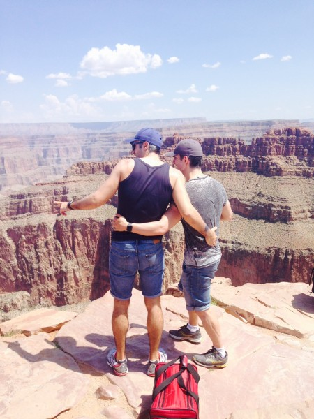 Us and the Grand Canyon!