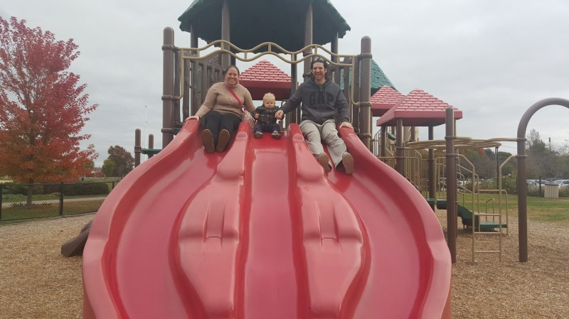 Our local playground isn't just fun for kids