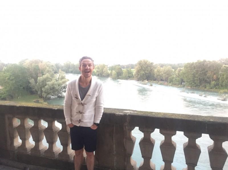 Daniel in Italy