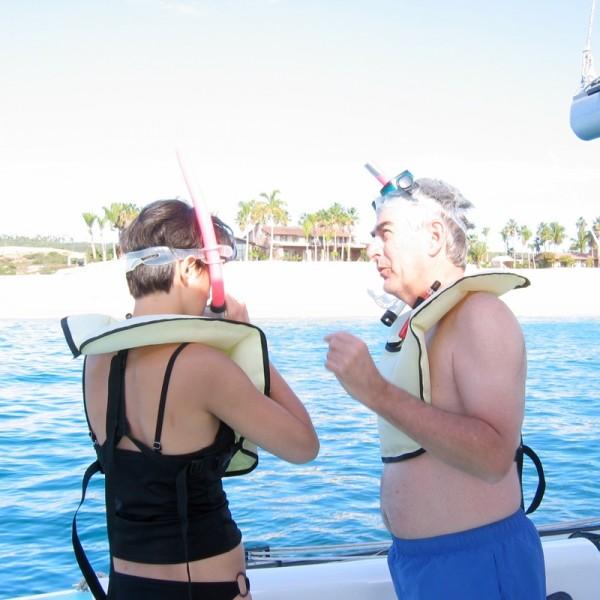 Fam-snorkelling