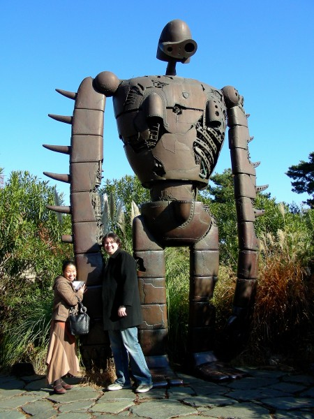 Giant robot at the Studio Ghibli museum in Japan